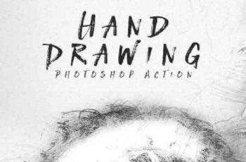 Hand Drawing Photoshop Action 16838132