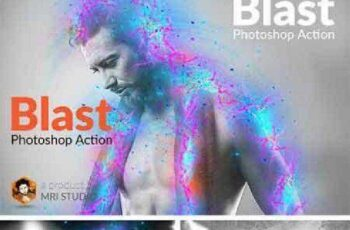 Blast Photoshop Action 779992 4