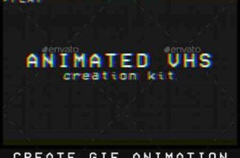Animated VHS Creation Kit 16048985