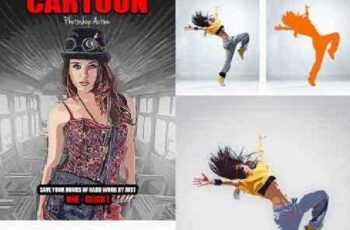 Cartoon Photoshop Action 16871050 4