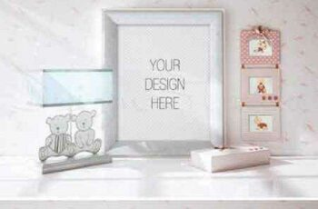 Styled Stock Photo, Frame mockup 695185 3