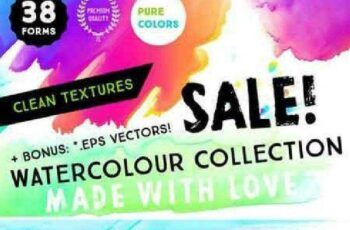 38 Watercolour Textures Collection 799146 5