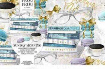 Sunday Morning Coffee Clip Art 1047525 5
