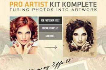 1701306 Pro Artist Creation Kit Template Creative Mask FX 13100902 7