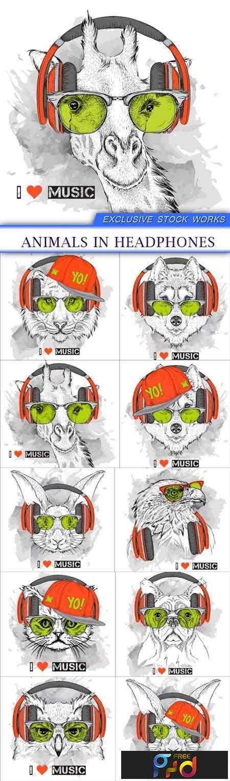freepsdvn-com_vector_1701008_animals_in_headphones_10_eps