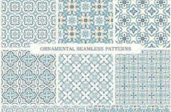 1701013 Arabic Ornamental Seamless Patterns 1106621 7