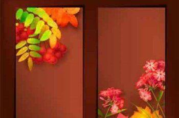 1701015 Autumn Vector Harvest Background 12 EPS 4