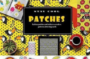 1701069 Fashion patches and stickers 1042415 6