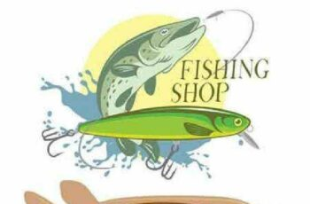 1701074 Fishing Design Elements 3 25 Vector 2