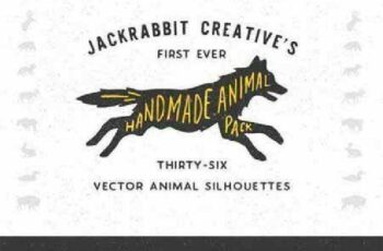 1701090 Handmade Animal Silhouette Pack 160289