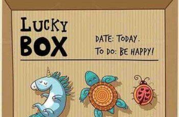 1701109 Lucky box 514066 8