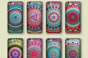 1701129 Phone cover boho style pattern 9 EPS 3