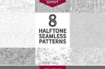 1701145 Seamless Halftone Dot Patterns 743918 7