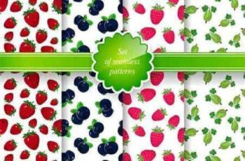 1701148 Seamless Pattern with Fruit Background 9 EPS 4