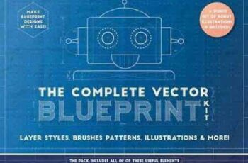1701163 The Complete Vector Blueprint Kit 984999 5