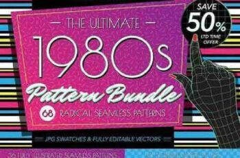 1701164 The Ultimate 1980s Pattern Bundle 1042345 10