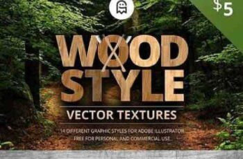 1701183 Wood Style Vector Textures 1099240 5