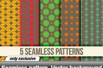 1701194 Seamless pattern Vector background 31 EPS 5
