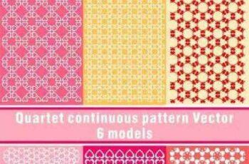 1701203 Quartet continuous pattern 10 EPS 7