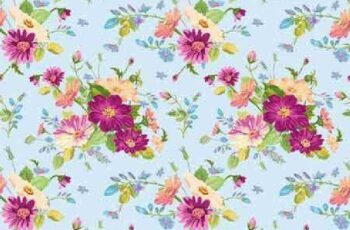 1701215 Seamless floral pattern 3 15 EPS 8
