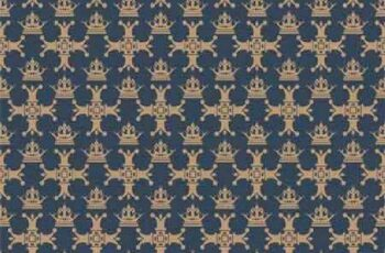 1701221 Seamless Pattern Wallpaper 25 EPS 7