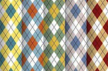 1701225 Scottish pattern 13 EPS 2