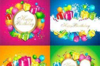 1701247 Background Birthday 25 EPS 8