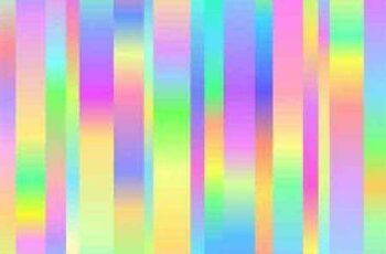 1701248 Colorful gradation stripe pattern background 18 EPS 4