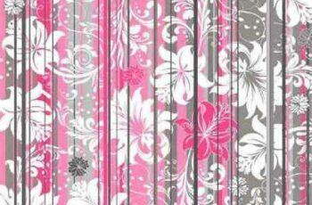 1701249 Vintage floral background 9 EPS 5