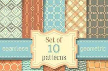 1701264 Seamless Pattern Collection 89 15 Vector 3