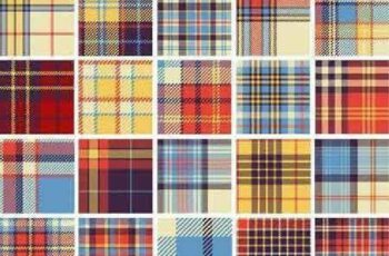 1701270 Seamless Pattern Collection 86 15 Vector 4