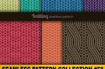 1701309 Seamless Pattern Collection 58 18 Vector 7