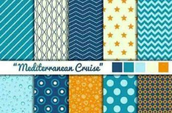 1701319 Seamless Pattern Collection 84 15 Vector 7