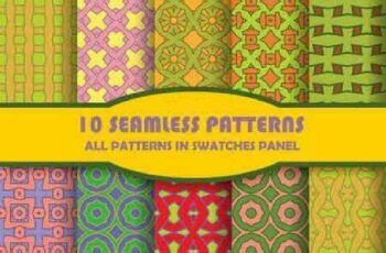 1701325 Seamless Pattern Collection 60 15 Vector 2
