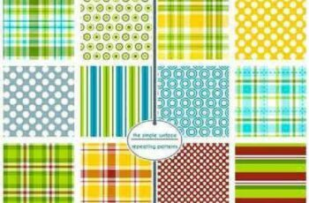 1701333 Seamless Pattern Collection 62 15 Vector 6
