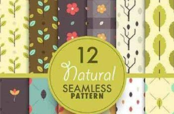 1701334 Seamless Pattern Collection 61 15 Vector 6