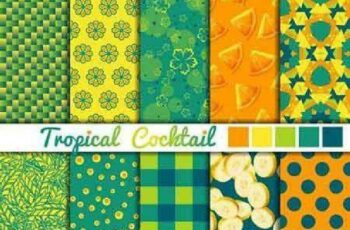 1701338 Seamless Pattern Collection 81 15 Vector 4