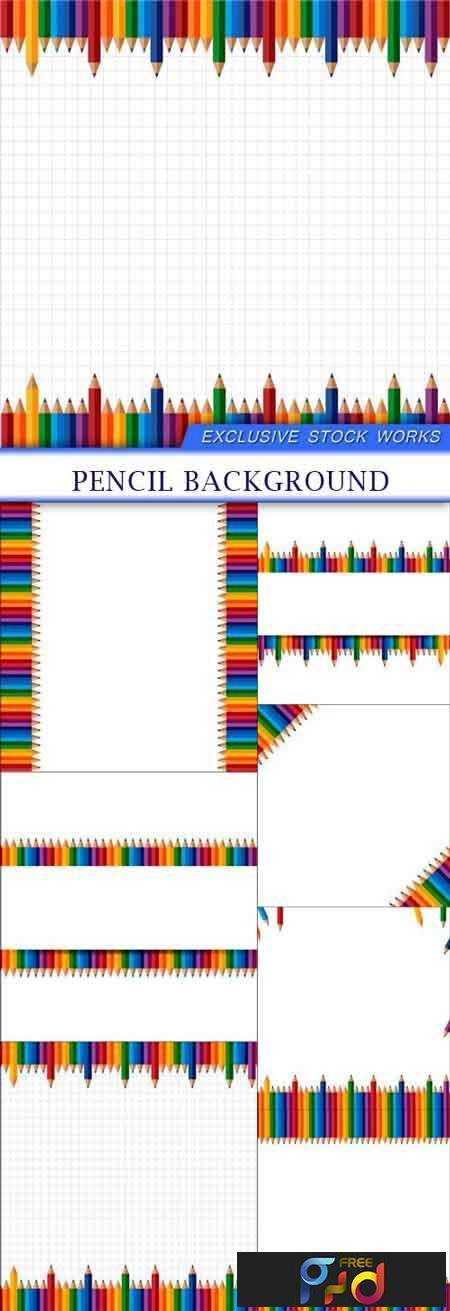 FreePsdVn.com_VECTOR_1701339_pencil_background_7_eps