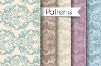 1701349 Seamless Pattern Collection 64 15 Vector