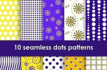 1701359 Seamless Pattern Collection 78 15 Vector 2