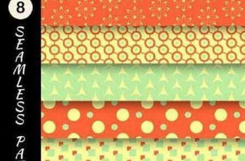1701368 Seamless Pattern Collection 77 25 Vector 5