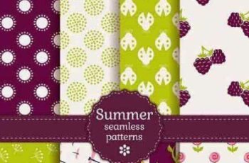 1701369 Seamless Pattern Collection 69 15 Vector 6