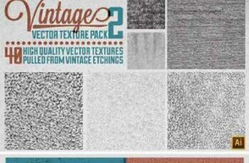 1701371 Vintage Vector Texture Pack 2 19039 5