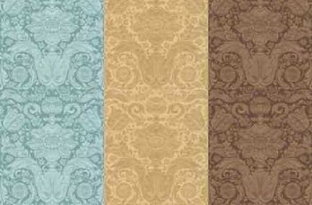 1701380 Vintage seamless pattern baroque 9 EPS 3