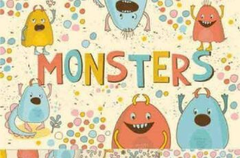 1701387 Cute Little Monsters 640055 3