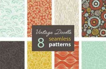 1701393 Seamless Pattern Collection 73 15 Vector 6