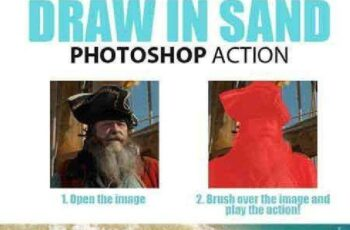 1702001 Draw in Sand Photoshop Action 16544305 5
