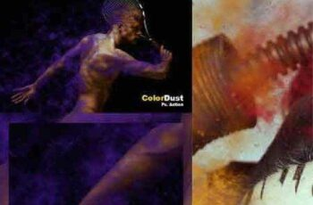 1702029 Color Dust Action 16478048 2