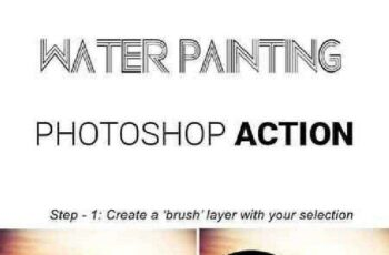 1702037 Water Painting Photoshop Action 16273705 6