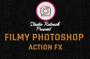 1702041 Filmy Photoshop Action FX 16343515 6